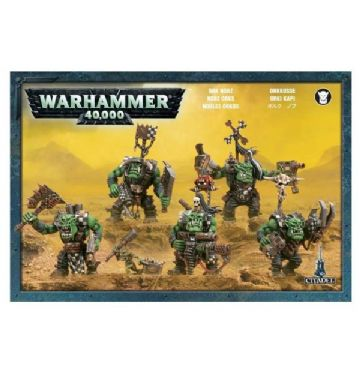 Games Workshop Warhammer 40000 40K Ork Nobz 50-12